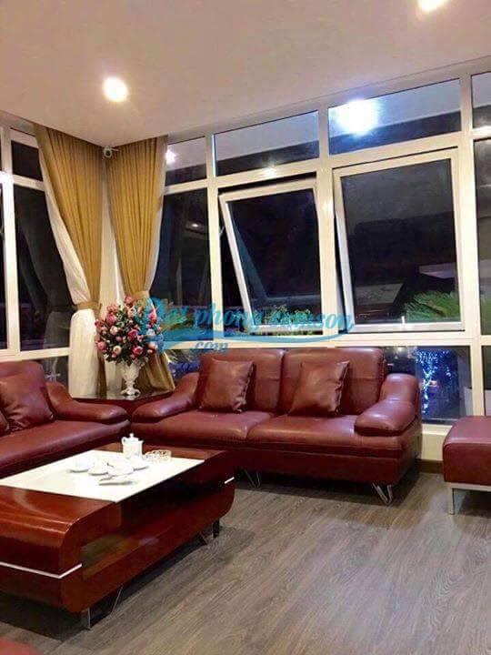 Phòng khách biệt thự kép flc Sầm Sơn