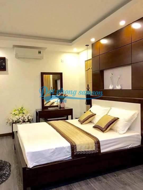 Phòng ngủ đẹp trong biệt thự kép flc sam son