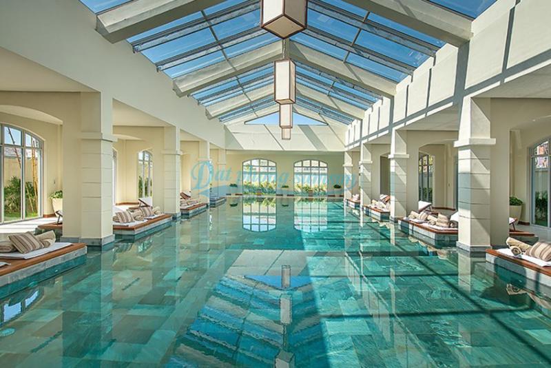 Bể bơi trong nhà flc luxury Sầm Sơn