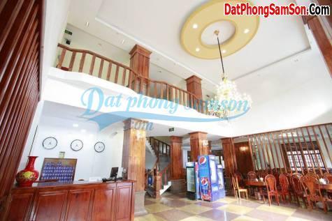 Lễ tân, phòng khách sạn Hoa Mai Sầm Sơn
