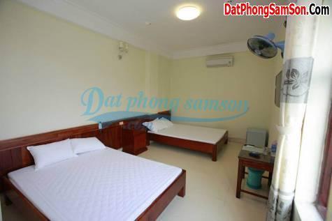 Phòng đôi khách sạn Hoa Mai Sầm Sơn