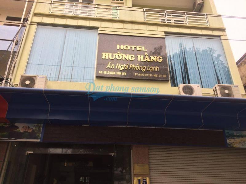 Mặt trước khách sạn Hường Hằng Sầm Sơn Thanh Hóa