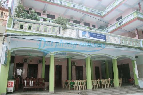 Góc ngoài khách sạn Hữu Nghị Sầm Sơn
