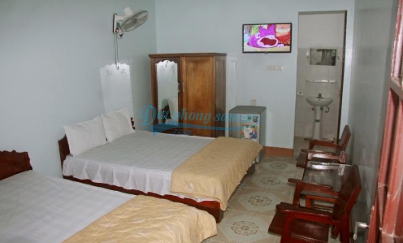 Phòng ngủ Khách sạn Hữu Nghị Sầm Sơn