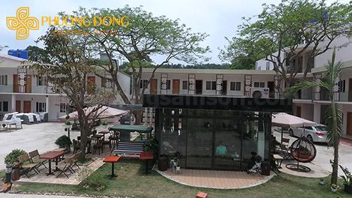 Thưởng thức coffee tại Khách Sạn Phương Đông