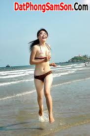 Sự tự nhiên và tươi trẻ từ bãi tắm B - biển Sầm Sơn Thanh Hóa