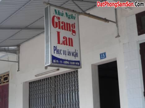Nhà nghỉ Giang Lan Sầm Sơn