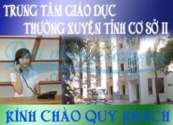 Đặt phòng Nhà nghỉ giáo dục (Trung tâm GDTX tỉnh Thanh Hóa cơ sở 2)