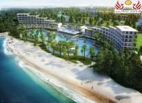 Bắn pháo hoa mừng khai trương quần thể du lịch nghỉ dưỡng FLC Sầm Sơn