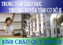 Nhà nghỉ giáo dục (Trung tâm GDTX tỉnh Thanh Hóa cơ sở 2)