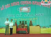 Sôi động lễ hội Bánh Chưng - Bánh Giầy Sầm Sơn 2015